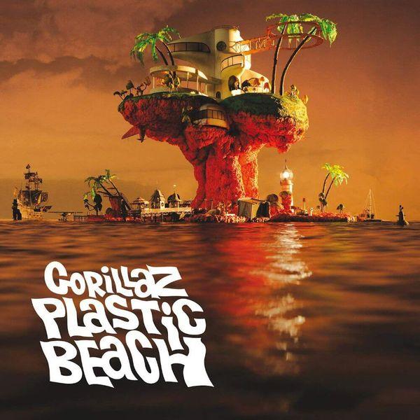 Album artwork of 'Plastic Beach' by Gorillaz